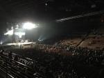 Primeira vista da arena