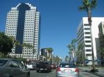 Dirigindo para a Long Beach Arena