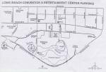 Mapa de Long Beach que ganhei na bilheteria. O atendente ainda fez questão de me explicar todos os lugares a se visitar na cidade, como o Aquário, mesmo sem eu pedir
