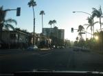Indo embora da linda Long Beach, já com o sol realmente se pondo