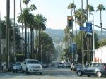 Em Beverly Hills, a caminho do Rainbow