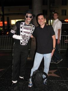 Eu com o rei do pop :-)
