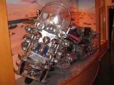 A Harley Davidson que pertenceu a Elvis Presley