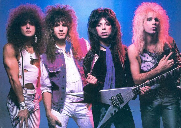 banda com Mark Slaughter