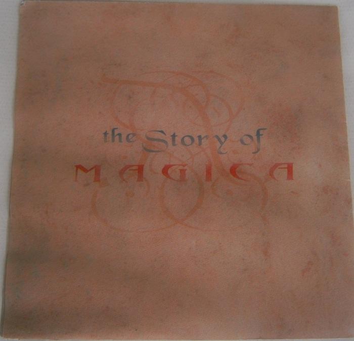 A Capa do Encarte Historia de Magica