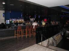 O bar da entrada