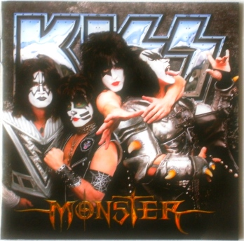 A capa em Cd - Monster