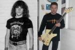 Ron McGovney - anos 80 e 3 décadas depois...