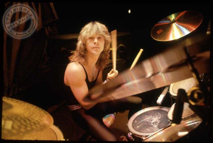 Clive Burr Iron Maiden
