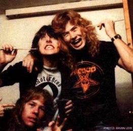 Hetfield, Lars e Dave