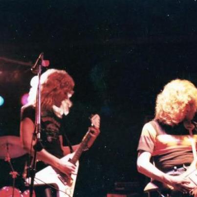 Hetfield e Mustaine