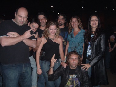 A Galera no Show em 14/07/2006