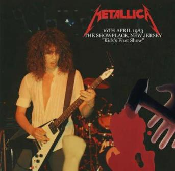 DiscMet_7_Kirk Hammett first show in MetallicA