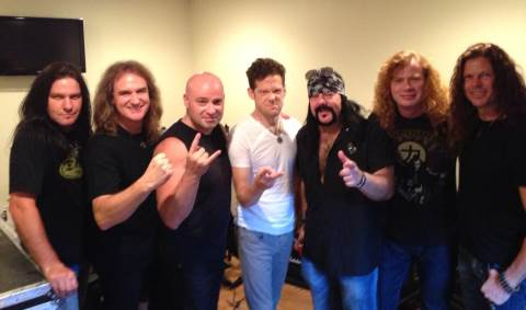 Giganjam - Megadeth com Slash, Zakk Wylde, Jason Newsted, David Draiman e Vinnie Paul