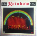 A capa do vinil - Rainbow On Stage