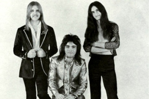 Alex Lifeson, John Rutsey e Geddy Lee: RUSH - 1974