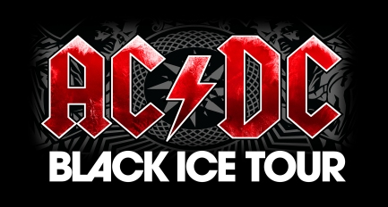 Banner oficial da Black ice Tour