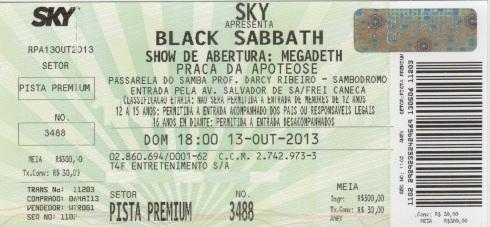 Ingresso_Black Sabbath_Rio2013