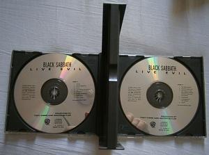 LIVE EVIL CD
