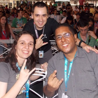Cris, Eduardo e Igor