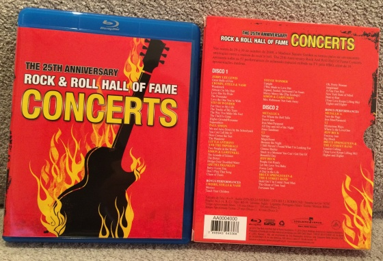 Rock And Roll Hall Of Fame Concerts 2009 Blu Ray