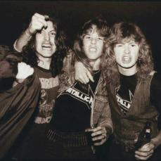 Ron Quintana, James e Mustaine