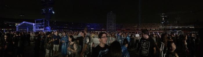 Panorâmica do estádio