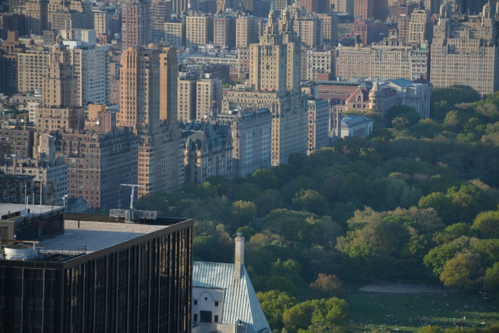 Top Of The Rock: vista com o Dakota