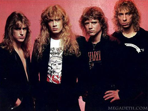Ellefson, Mustaine, Poland e Samuelson