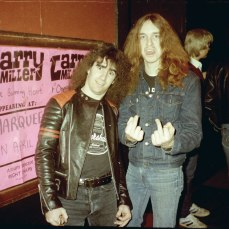 Scott Ian e Cliff Burton