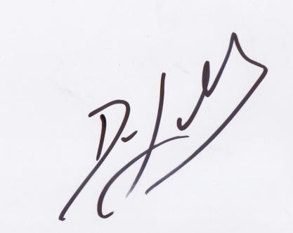 Autógrafo Dave Lombardo