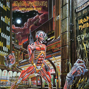 Iron Maiden – Somewhere in Time (107 pontos)