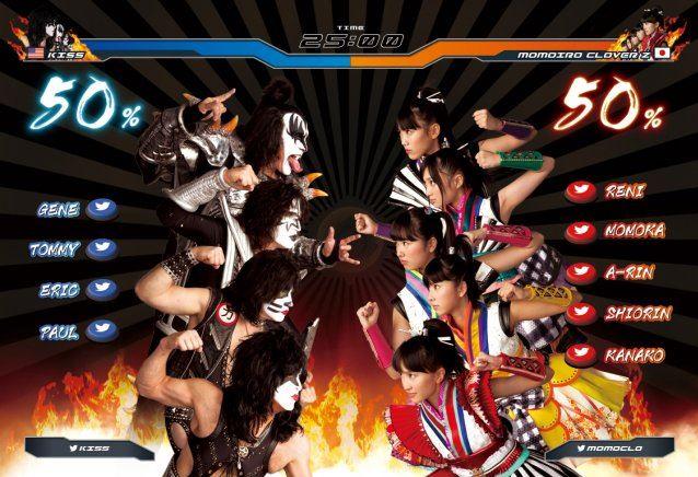 Momoiro-Clover-Z-x-KISS-01