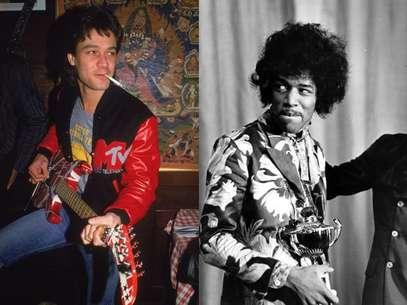 Eddie Van Halen e Jimmy Hendrix