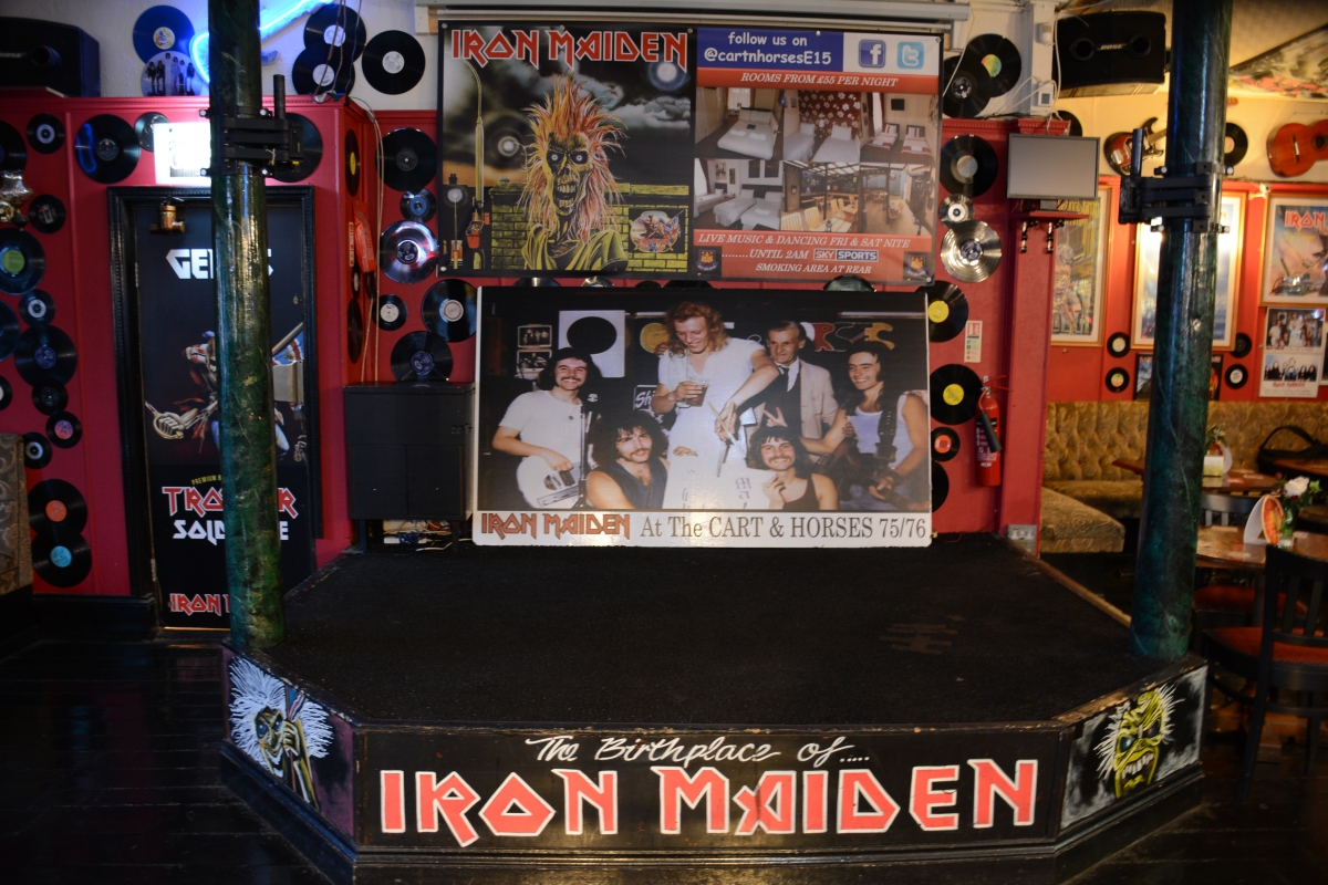 Minuto HM em Londres: Cart & Horses - The Birthplace of Iron Maiden