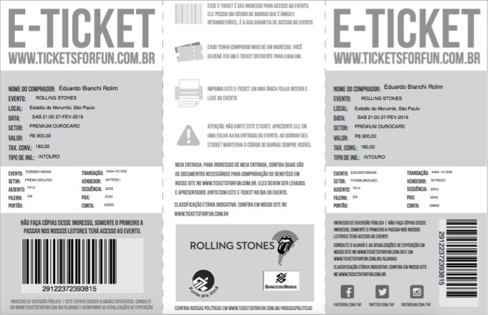 Rolling Stones em São Paulo (show 2)
