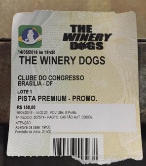 The Winery Dogs em Brasília