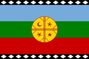 Bandera Mapuches