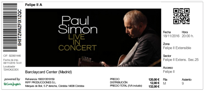 ingresso-paul-simon_madrid_18nov2016