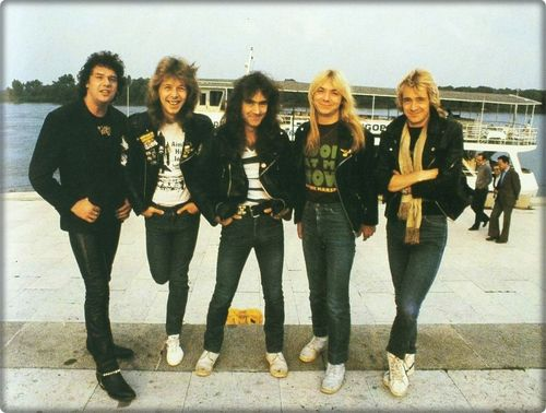 Paul last photo with band