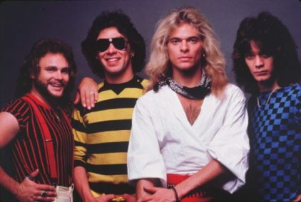 MICHAEL ANTHONY, ALEX VAN HALEN, DAVID LEE ROTH E EDDIE VAN HALEN