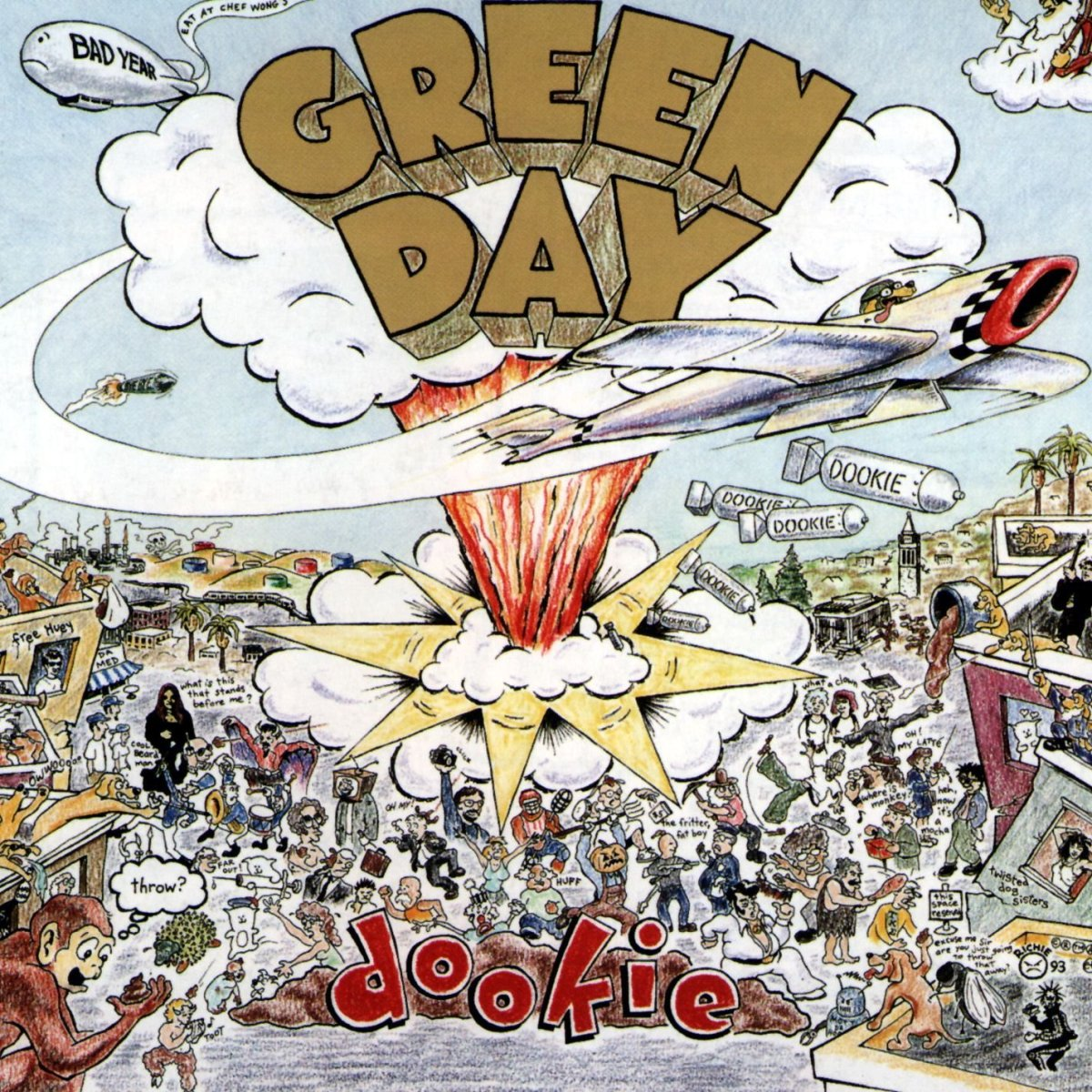 Discografia HM - Green Day - Dookie (1994)