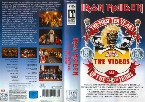 Iron Maiden - The First Ten Years