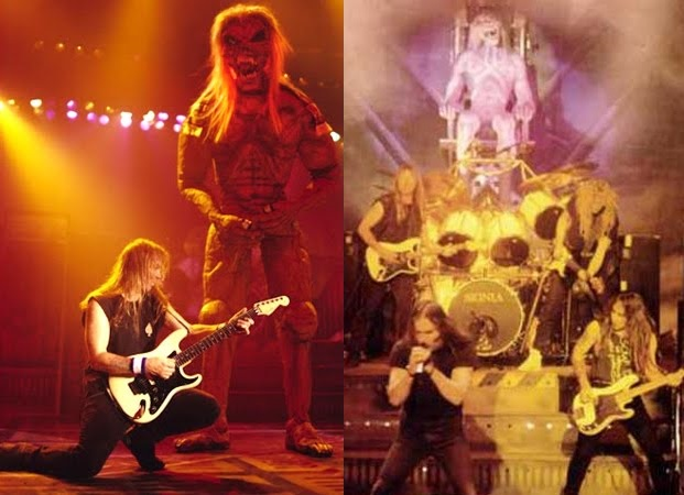 iron maiden the x factour 1995